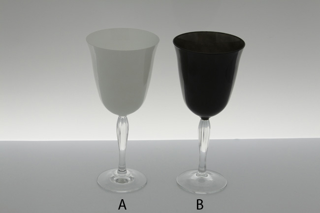 Black Water Glass