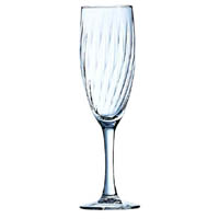 Optic Champagne Glass