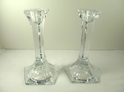 12 Glass Candlestick