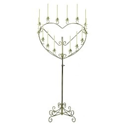 Heart Shape Candelabra
