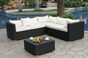 Dark Wicker Rattan Furniture